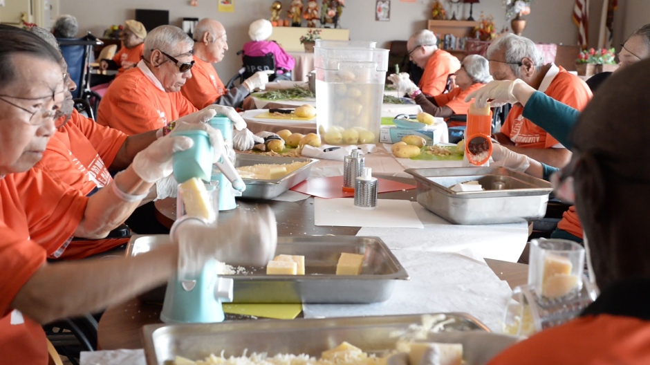 nursing home residents find purpose through service and community